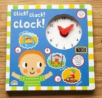 #1975  Click Clack Clock教小朋友睇時間/圖書/課外書/硬皮書