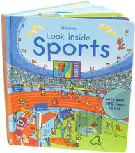 【售罄】#517 強烈推介^^ Usborne Look inside sports 立體揭揭書(100個機關)
