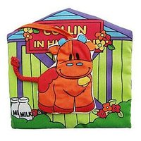 #841 Itty-Bitty , BB布書, 嬰兒立體農場布書 Collin in his barn/BB玩具