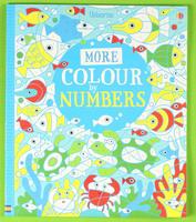 #1881 【推介,點止填色咁簡單?】 Usborne More Colour to Numbers , 填色畫冊