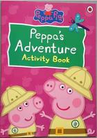 #1603 Ladybird 《Peppa Pig》Peppa's Adventure Activity Book 粉紅小豬遊戲書【課外書】