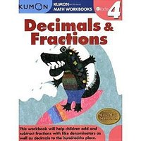 #973 推介 ^.^ KUMON 公文數學練習冊 Decimals & Fractions Grade 4 762