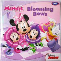 #1672 Disney Minnie Blooming Bows,英文圖書,故事書