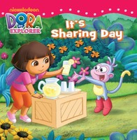 #1921 Dora The Explorer , It's Sharing day , 故事書 , 課外書