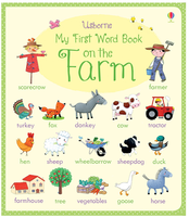 #1854 Usborne My First Word Book on the Farm,英文單詞 【課外書】