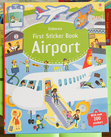 #1874 Usborne First Sticker Book Airport 貼紙書/課外書
