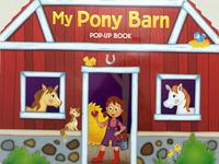 #1884 小朋友好鐘意既Pop-Up Book,My Pony Barn,立體故事書