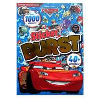 #1992 Disney Cars 3  1000 Sticker Burst 貼紙書/遊戲書/車王/麥坤