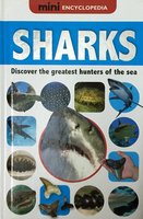 #1914 Mini Encyclopedia 迷你百科書 SHARKS , 外課書
