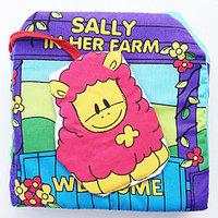 #839 Itty-Bitty , BB 布書,嬰兒立體農場布書 Sally in her farm/BB玩具