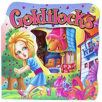 #858 好靚,大大本 , 超可愛兒童撕不爛鏤空故事書 Goldilocks