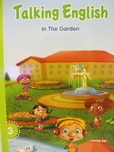 #1199 Learning Age台灣學齡出品 , 幼兒英語入門教材 Talking English 3 -- In the Garden,英文圖書,會話