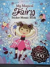 #1365 My Magical Fairy Sticker Mosaic Book 馬賽克貼紙遊戲書(超過900個貼紙)