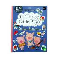 #1971 First Readers The Three Little Pigs Sticker Activities 故事書+貼紙遊戲