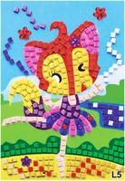 #1749 DIY 馬賽克數字貼畫手工,L5 跳舞女孩
