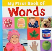 #1803 My First Book of Words , 大大本幼兒認字圖書