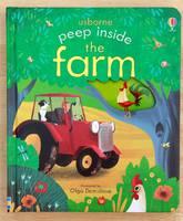 #1792 Usborne peep inside the farm /揭揭書/洞洞書/英文圖書/課外書/硬皮書