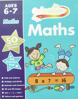 #1531 Gold Stars 數學練習冊 Ages 6-7 Maths,數學補充,課外練習