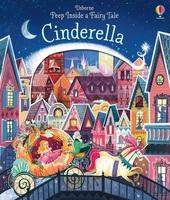 #1981 Usborne peep inside the Cinderella/揭揭書/洞洞書/英文圖書/課外書/硬皮書
