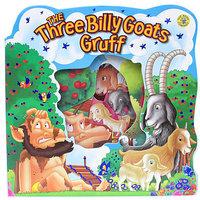 #859 好靚,大大本, 超可愛兒童撕不爛鏤空紙板書好,The three Billy Goats Gruff,英文圖書,故事書, 3隻山羊