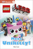 #1918 DK Readers The Lego Movie , Beginning to read 1,英文圖書,課外書