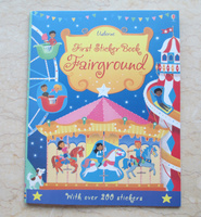 #1818  Usborne First Sticker Book 《Fairground》貼紙書/課外書