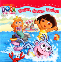 #1937 Dora The Explorer,Swims,Boots,Swim! 故事書,課外書