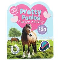 #1716 【聖誕優惠】Stick and Learn Pretty Ponies,貼紙練習,貼紙遊戲書