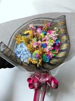 [鮮花速遞,網上訂花] #AF1825情人節荷蘭彩虹11枝玫瑰花束 最後一位