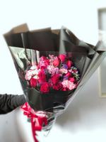 [鮮花速遞,網上訂花] #AF1823情人節19枝紅色玫瑰花束 最後一位