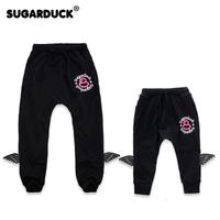 親子裝 Sugarduck 黑色 長褲 5746