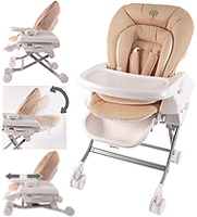 Baby Star 多功能嬰兒 高低餐椅 高腳 bb 餐椅 搖床(升級版) High Chair