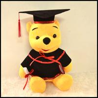 Winnie the Pooh 23CM 畢業 毛公仔
