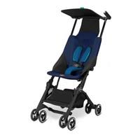特價 第三代 Goodbaby Pockit 可摺 高坐位 超輕 嬰兒 手推車 bb 車 深藍色