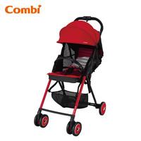 日本 Combi F2 Plus AF 特價 超輕 超輕便 單手收車 嬰幼兒手推車 bb車 紅色 3.9kgs