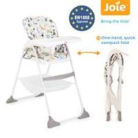 英國 Joie Mimzy Snacker 輕便幼兒餐椅 High Chair 適合6月至15kgs 重量: 6.5kgs