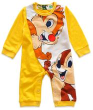 冬季 CHIP & DELA 嬰兒 長袖 bb衫 夾衣 4389