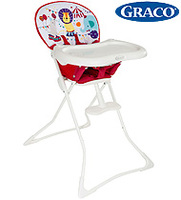 美國Graco Tea Time 高腳 嬰兒 餐椅 High