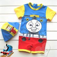 游泳用品 Thomas & Friends 火車頭造型泳衣 短袖