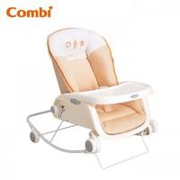 Combi 嬰兒低搖椅 餐椅 Prumea /橙色