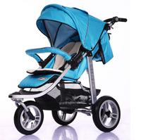 德國 Seebaby 高身 豪華版 特大車輪 特厚軟墊 嬰幼兒手推車 bb車 T13A 8.9 kgs