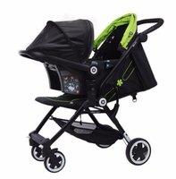 德國 Kiddy Urban Star 1 Stroller and Nest Carrier 特價 嬰兒 幼兒 單手收車 手推車連 Car Seat