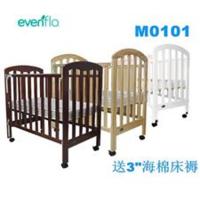 Evenflo 松木 嬰兒床 木床 送3吋海棉床褥 M0101