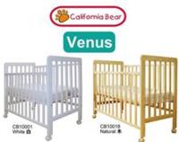 California Bear 松木嬰兒床 送11CM彈簧床褥