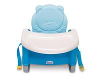 Weina 加高 嬰兒 bb 餐椅 食飯椅 安全椅 增高坐椅 - 粉藍色4019