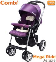日本 Combi Mega Ride Deluxe 特價 雙向 嬰兒 單手收車 手推車 bb車