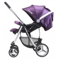 Combi Mega Ride Deluxe 雙向 嬰兒 手推車 bb 車 - Purple