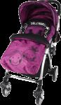 韓國 Delly & Belly 特價 雙向 單手收車 嬰兒 手推車 bb 車 Q6