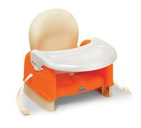 Weina 加高 嬰兒 bb 餐椅 食飯椅 安全椅 增高坐椅 - 橙色4009