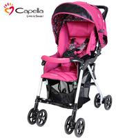 韓國 Capella S-230F 特價 限量版 雙向 單手收車 嬰兒 幼兒 手推車 bb車